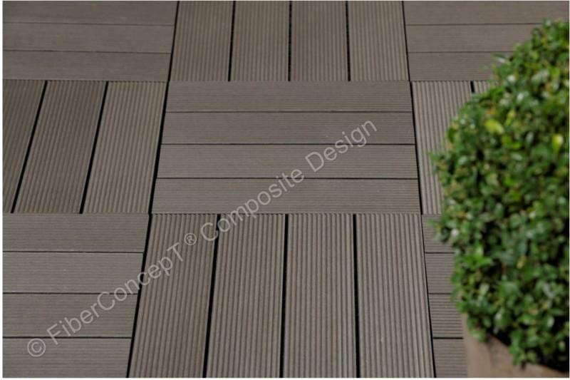 wpc terrassendielen duroline exclus wood bodenplatten. Black Bedroom Furniture Sets. Home Design Ideas